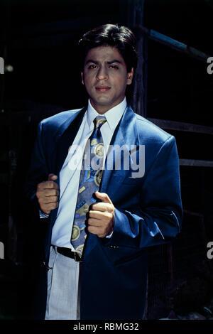 Portrait von Shah Rukh Khan, Indien, Asien Stockbild