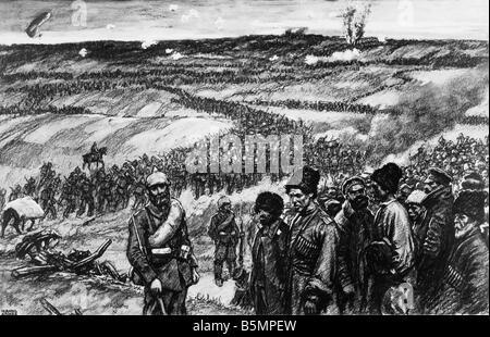 9 1914 8 26 A1 3 Schlacht von Tannenberg Anker 1. Weltkrieg östlichen vorderen Schlacht von Tannenberg Masuren Stockbild