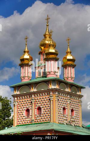 St. Johannes der Täufer Kirche der Heiligen Dreifaltigkeit, Hl. Sergius Lavra, UNESCO-Weltkulturerbe, Sergiev Posad, Russland, Europa Stockbild