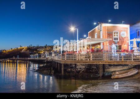 Restaurant Casa Roja, Puerto del Carmen, Lanzarote, Kanarische Inseln, Spanien Stockbild