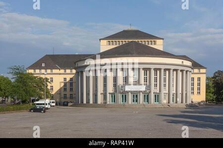 Saarländisches Staatstheater Saarbrücken, Saarland, Deutschland Stockbild
