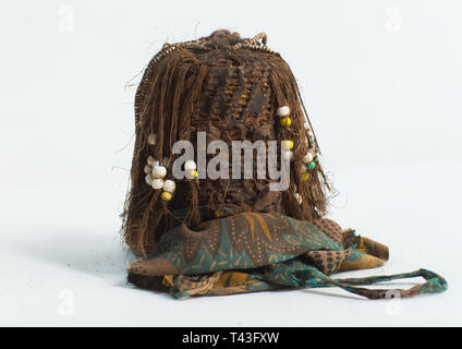 Stamm Puppe von Süden, Cunene, Angola Stockbild