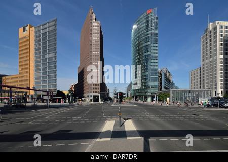 Berlin. Deutschland. Potsdamer Platz. Stockbild