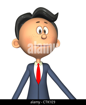 Cartoon Figur Fotograf Serie Lehrer Stockbild