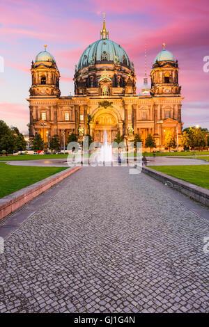 Der Berliner Dom in Berlin, Deutschland. Stockbild