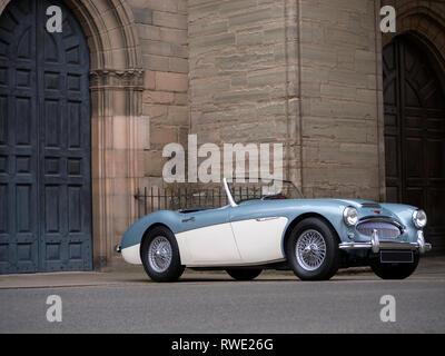 Austin Healey MKII BT7 3000 1961 Stockbild