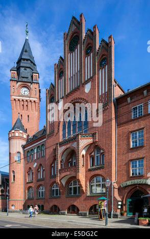 Rathaus Köpenick, Backsteingotik, Köpenick, Berlin, Deutschland Stockbild