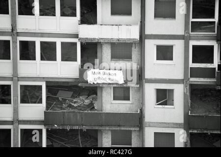 Abriß der Esso-Hochhäuser in der Taubenstraße, Spielbudenplatz, St. Pauli, Reeperbahn, Hamburg, Deutschland Stockbild