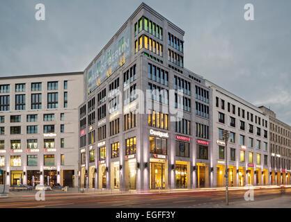 Einkaufszentrum Berlin, Leipziger Platz, Berlin, Deutschland Stockbild