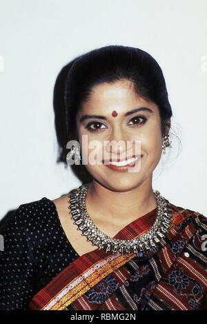 Portrait von renuka Shahane, Indien, Asien Stockbild