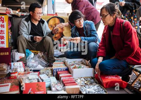 Panjiayuan Flea Market, Peking, China, Asien Stockbild