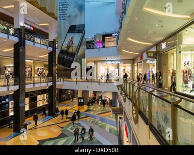 Das Alexa Einkaufszentrum, Berlin, Deutschland, Europa Stockbild