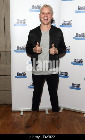 Chortle Comedy Awards am Fest Camden, Camden Town, London Mit: Jamie Laing Wo: London, Großbritannien Wann: 18 Mar 2019 Credit: WENN.com Stockbild