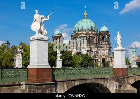 Europa, Deutschland, Berlin, Berliner Dom Stockbild
