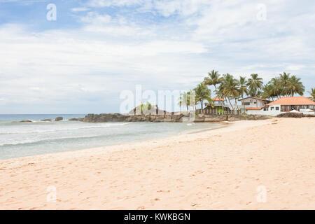 Asien - Sri Lanka - induruwa - einige schöne Häuser am Strand Stockbild