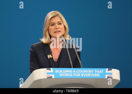 JUSTINE GREENING MP, 2017 Stockbild
