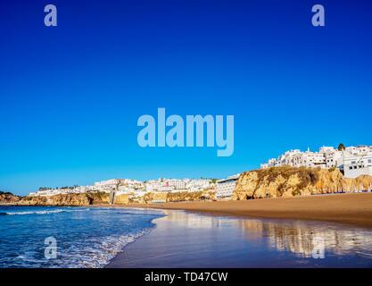 Paneco Strand, Albufeira, Algarve, Portugal, Europa Stockbild