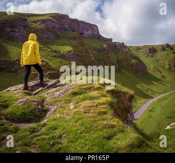 In der Aussicht, Peak District, Derbyshire, England, Vereinigtes Königreich, Europa Stockbild