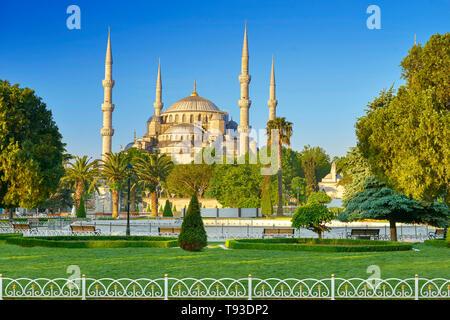 Blaue Moschee, Istanbul, Türkei Stockbild