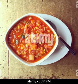 Gemüsesuppe Stockbild