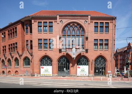 Rathaus Linden, Stadtteil Linden-Mitte, Hannover, Niedersachsen, Deutschland Stockbild