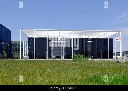 Moderne Architektur, Ã?restad, Insel Amager, Kopenhagen, Dänemark Stockbild