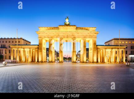 Brandenburger Tor Berlin, Deutsch Stockbild