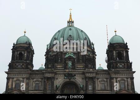 Berliner Dom (Berliner Dom) auf der Museumsinsel in Berlin, Deutschland. Stockbild