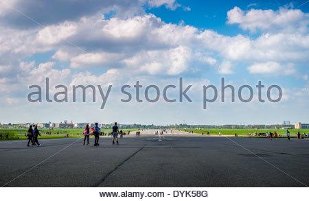 Flughafen Tempelhof Berlin, Deutschland Stockbild