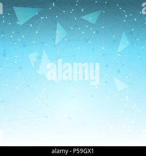 Zusammenfassung Hintergrund mit einem low-Poly-design Stockbild