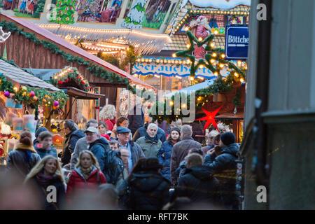 Weihnachtsmärkte, Bremen, Deutschland, Europa Stockbild