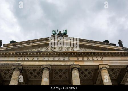 Konzerthaus Berlin Stockbild