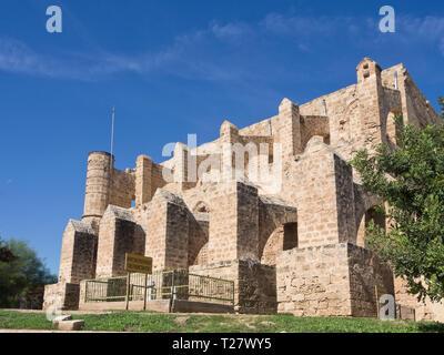 Ehemalige Kirche der Hll. Peter und Paul jetzt genannt Sinan Pasa Moschee in Famagusta Zypern, für Konzerte und Veranstaltungen genutzt Stockbild