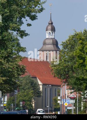 Sankt Andreas Kirche, Cloppenburg, Niedersachsen, Deutschland, Europa ich Sankt-Andreas-Kirche, Cloppenburg, Niedersachsen, Deutschland, Europa i Stockbild