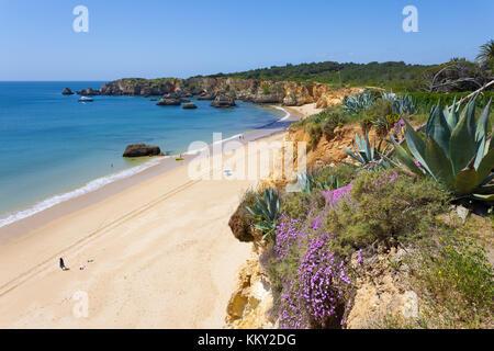 Portugal - Algarve - Praia do Vau - Europa Stockbild
