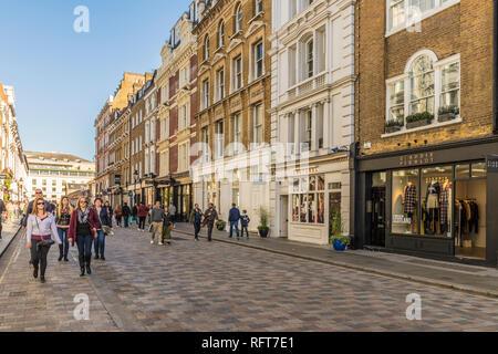 King Street, Covent Garden, London, England, Vereinigtes Königreich, Europa Stockbild