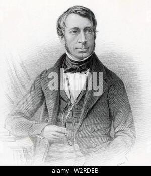 GEORGE Airy (1801-1892), englischer Astronom und Mathematiker Stockbild
