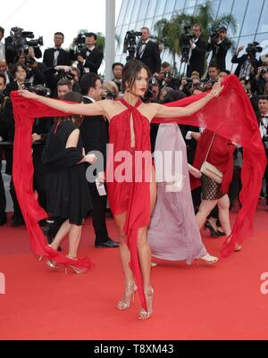 Alessandra Ambrosio, 2019 CANNES Stockbild