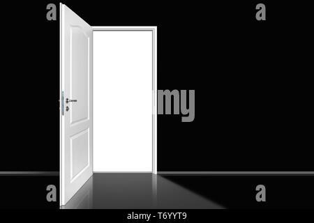 Tür 32 Stockbild