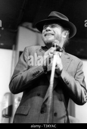 Long John Baldry, 100 Club, London, 1993. Stockbild