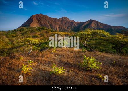 Die schöne Cerros de Los Picachos Ola Berge, Provinz Cocle, Republik Panama. Stockbild