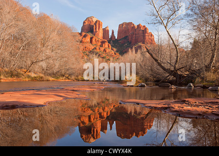 Cathedral Rock, Sedona, Arizona USA Stockbild