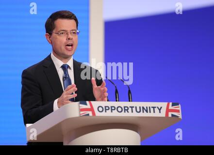 JAMES BROKENSHIRE MP, 2018 Stockbild