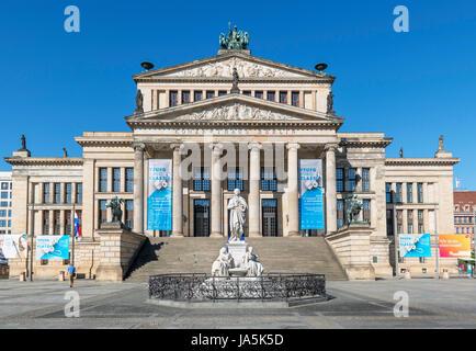 Das Konzerthaus (Konze Hall) in Gendarmenmarkt, Friedrichstadt Bezirk, Berlin, Deutschland Stockbild
