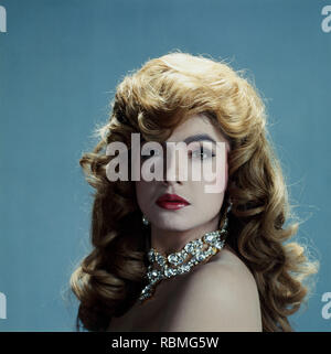 Portrait von Pooja Bhatt, Indien, Asien Stockbild