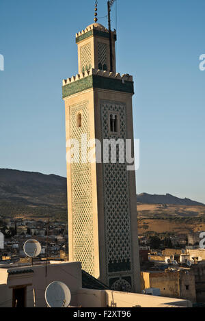 Moulay Hassan II Moschee, Fes, Marokko Stockbild