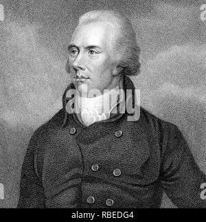 WILLIAM Pitt der Jüngere (1759-1806) Britische Konservative Premierminister Stockbild