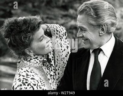 Eine empfindliche Balance 1973 AFT Film mit Katharine Hepburn und Paul Scofield Stockbild
