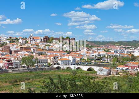 Portugal - Algarve - Silves - Europa Stockbild