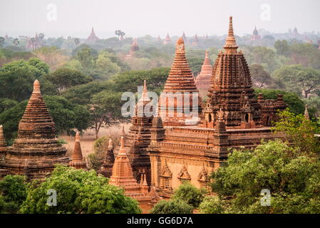 Geographie / Reisen, Myanmar, Bagan, Pagan, Arimaddana-Pura, historische Königsstadt für Weltkulturerbe Stockbild